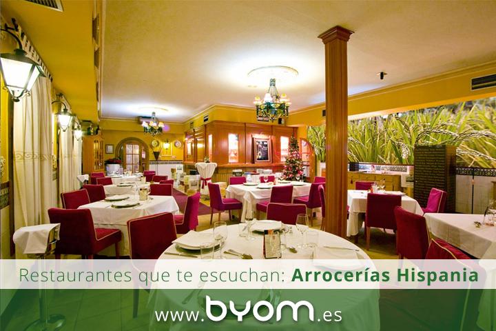restaurante arroceria hispania